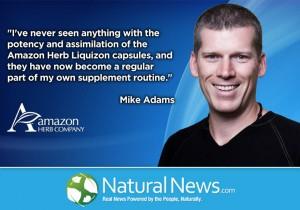 Naturalnews.com endorsement from Mike Adams