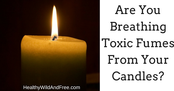Are You Breathing In Toxic Fumes From Your Candles
