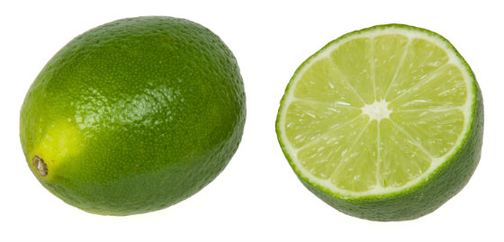 Limes Contain Super Beauty Vitamin C And Cell Oxygenating Folate