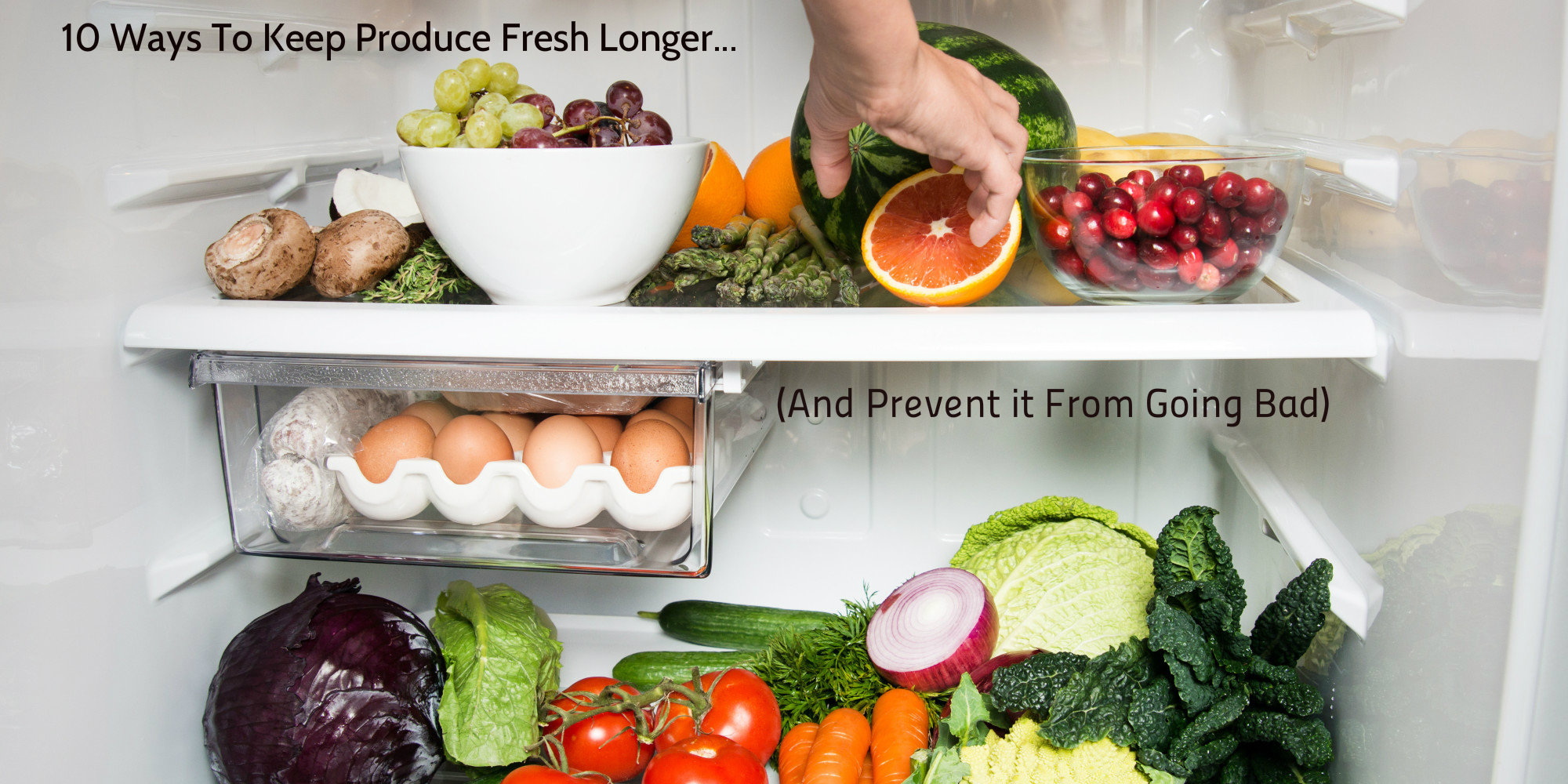10 Ways To Keep Produce Fresh Longer (and prevent it from going bad)