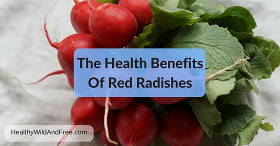 The Health Benefits Of Red Radishes