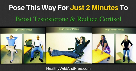 Boost Testosterone And Lower Cortisol With These 2 Minute Poses (Video)