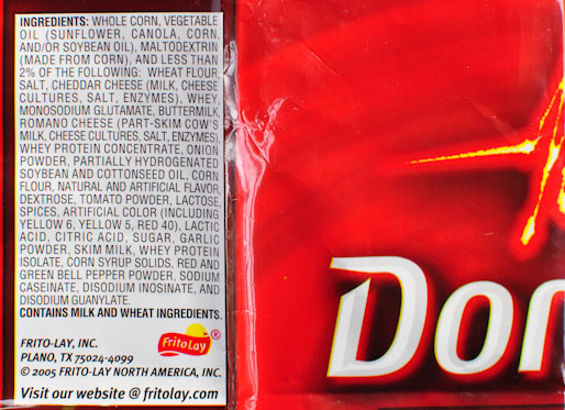 doritosingredients