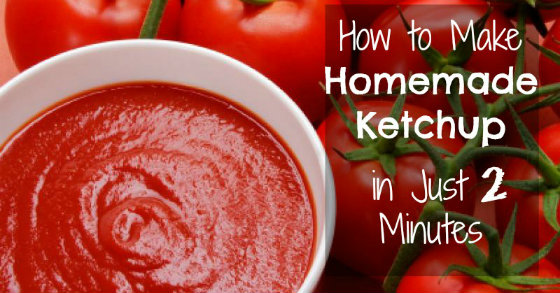 How To Make Organic Ketchup in Just 2 Minutes