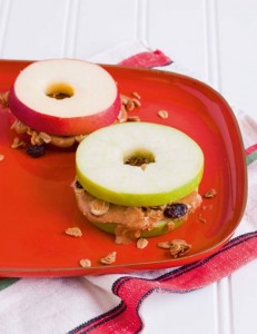 granola-peanut-butter-apple-sandwiches