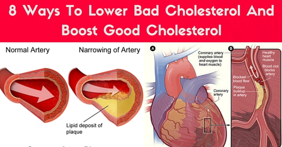 8 Ways To Lower Bad Cholesterol And Boost Good Cholesterol