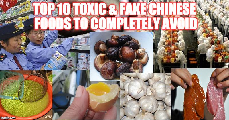 Kết quả hình ảnh cho toxic food in china