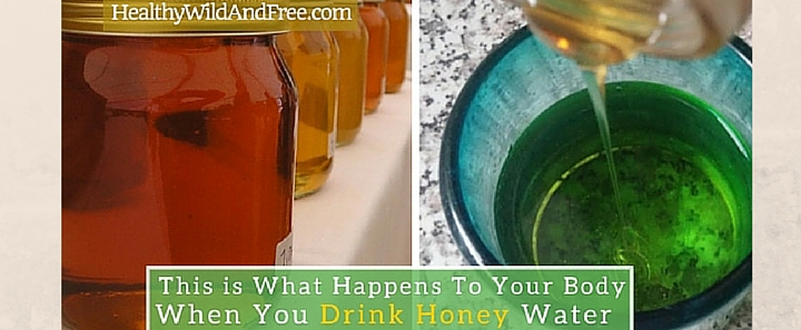 This is What Happens To Your Body When You Drink Honey Water