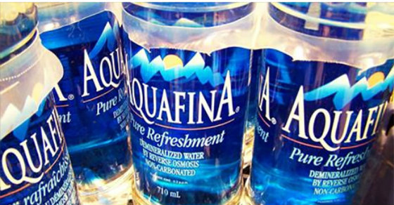 Pepsi Admits That Its Aquafina Bottled Water Is Just Tap Water, Coca-Cola's Dasani Is Next