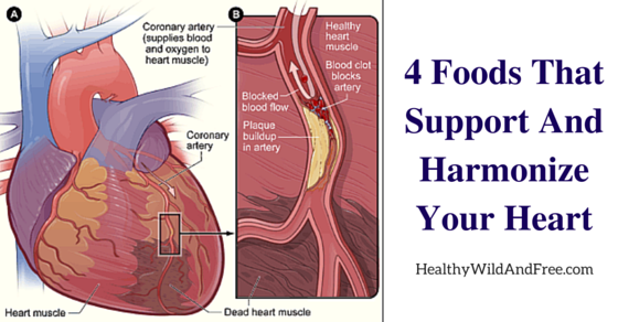 4 Foods That Support And Harmonize Your Heart