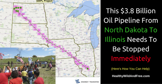 This $3.8 Billion Oil Pipeline From North Dakota To Illinois Needs To Be Stopped