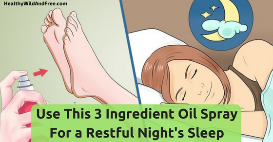 Use This 3 Ingredient Oil Spray For a Restful Night's Sleep