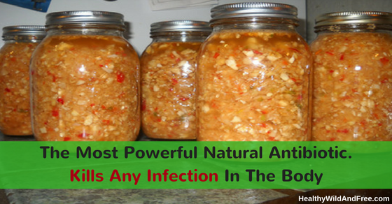The Most Powerful Natural Antibiotic Tonic. Kills Any Infection In The Body