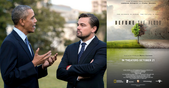 """Leonardo DiCaprio Asks Humanity To Change The Way We Eat, Consume And Produce Energy in His New Film """"Before The Flood"""""""