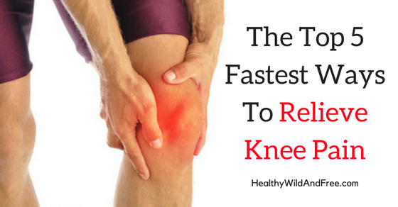The Top 5 Fastest Ways To Relieve Knee Pain