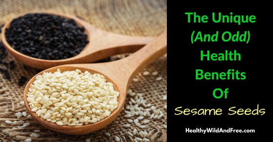 The Surprisingly Odd Health Benefits Of Sesame Seeds