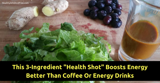 """This 3-Ingredient """"Health Shot"""" Boosts Energy Better Than Coffee Or Energy Drinks"""