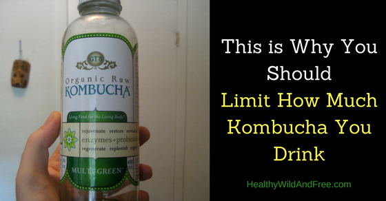 This is Why You Should Limit How Much Kombucha You Drink