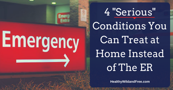 """4 """"Serious"""" Conditions You Can Treat at Home Instead of the ER"""