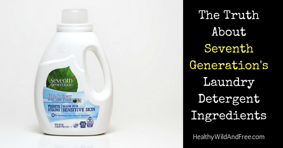 The Truth About Seventh Generation's Laundry Detergent Ingredients