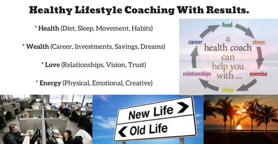 Healthy Lifestyle Coaching To Support The Move Into Your Dream Life