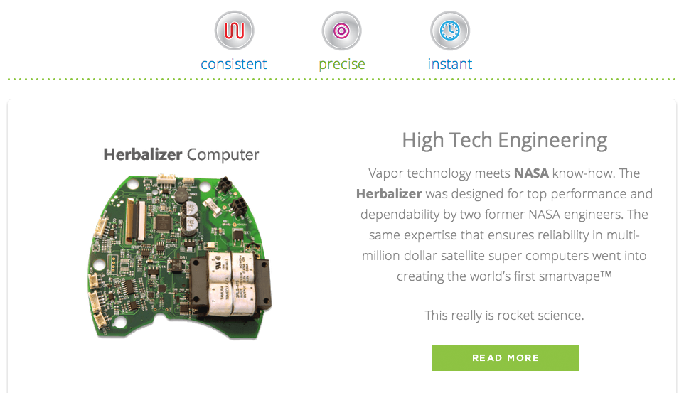Herbalizer technology