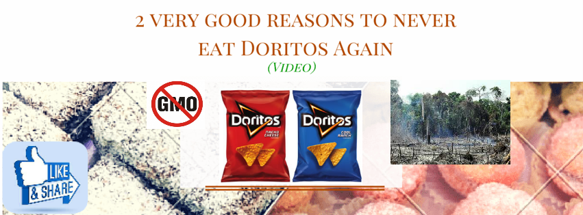 2 Very Good Reasons To Never Eat Doritos Ever Again