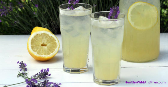 Lavender Lemonade Reduces Stress, Anxiety, Pain and Worry