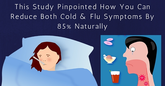 This is How You Can Reduce Cold & Flu Symptoms By 85%