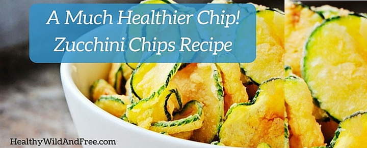 Delicious Salt and Vinegar Zucchini Chips: A Much Healthier Chip!