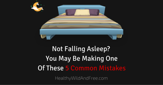 Not Falling Asleep? You May Be Making One Of These 5 Common Mistakes