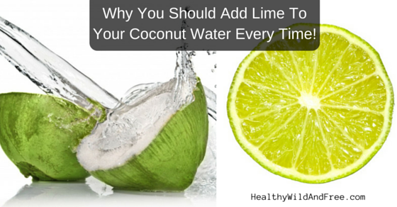Why You Should Add A Fresh Squeezed Lime To Your Coconut Water