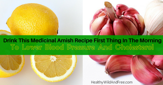 Drink This First Thing In The Morning To Lower Blood Pressure And Cholesterol