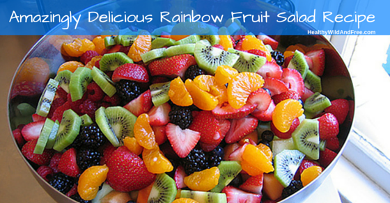 Amazingly Delicious Fruit Bowl Recipe (Rainbow Fruit Salad With Honey & Lime)