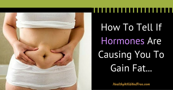 How To Tell If Hormones Are Causing You To Be (And Gain) Fat