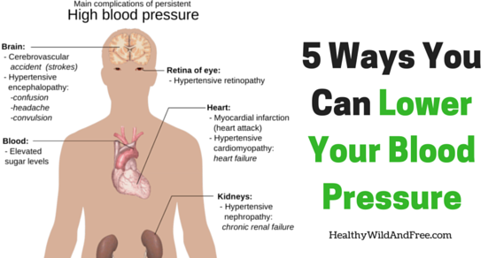 5 Ways That You Can Lower Your Blood Pressure