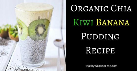 Organic Chia Kiwi Banana Pudding Recipe (It's Really Good)