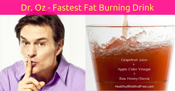 "Dr. Oz's ""Swimsuit Slim Down Drink"" Breaks Down Fat Faster Than Anything (Recipe Here)"
