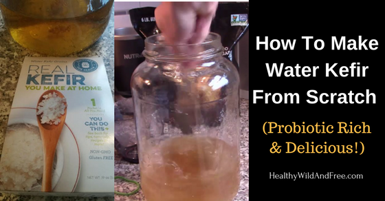 How To Make Water Kefir From Scratch (Probiotic Rich & Delicious Drink!)