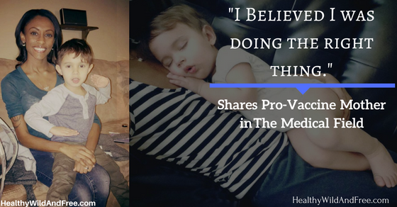 """I Believed I Was Doing The Right Thing"" Shares Pro-Vaccine Mother in The Medical Field"