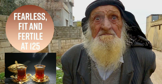 He's 125 Years Old and He Drinks This Natural Tea Every Single Day